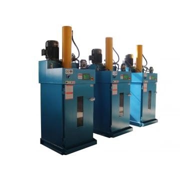 Oil barrel flattening machine
