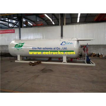 25000 Liters Mobile LPG Skid Vessels