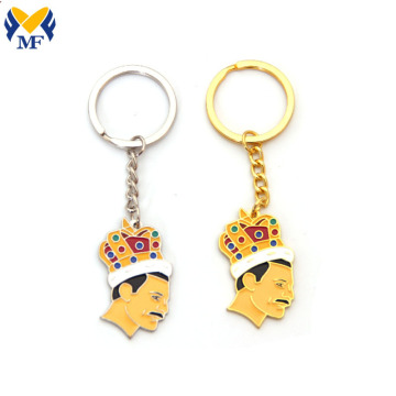 Custom Fashion Cute Zinc Alloy Enamel Keychain
