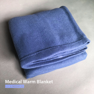 Medical Grade Weighted Warm Blanket Double Side Fleece