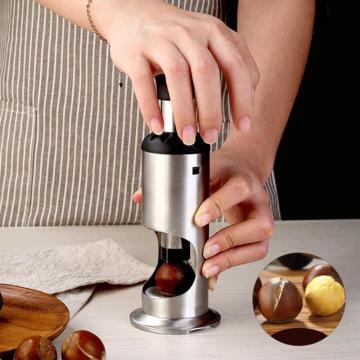 1PCS Creative Stainless Steel Chestnut Opener Household Manual Peeling Sheller Practical Opening Tool Nutcracker Kitchen Gadgets