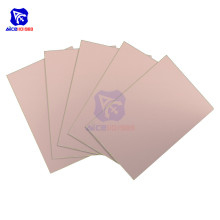 diymore 5PCS/Lot 10x15cm Single Sided PCB Prototyping Board Copper Clad Laminate PCB Printed Circuit Board FR4