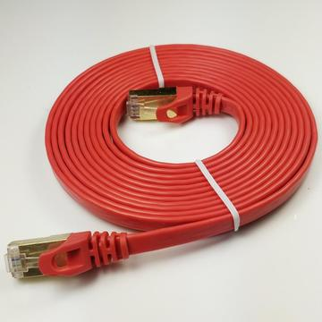 High Speed Cat7 RJ45 Flat Solid Network Wire