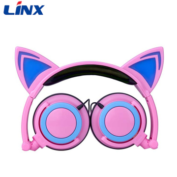 Cuffie Linx a LED Cat Ear Headphone Shenzhen