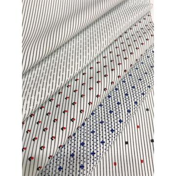 T/C Woven Yarn-dyed Stripe Printed Processing Fabric