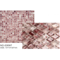 Rose color matte elegant mosaic tiles