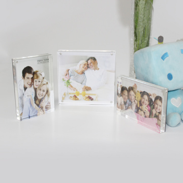 APEX 3x5 Clear Acrylic Family Photo Frame