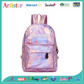 CRYBABY pink laser backpack