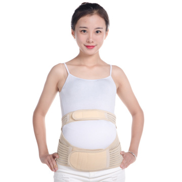 Comfortable stomach support belt