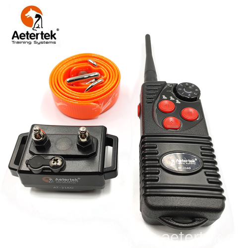 Aetertek AT-216D remote dog training collar