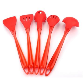 Cooking Baking Tool Flat Turner Silicone Soup Ladle