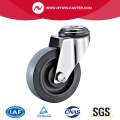Bolt Hole Swivel TPR Stainless Steel Caster