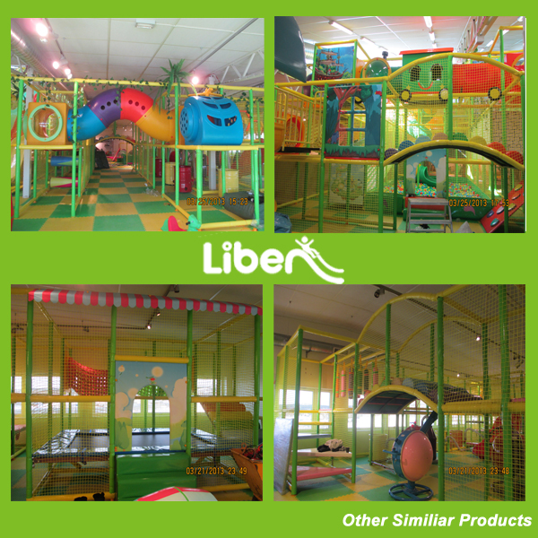 Indoor Playground with Free Jumping Indoor Playground Free Jumping Indoor Playground with Tunnel