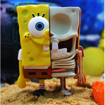 Anatomical Spongebob SquarePants Blind Box Toys Series 1