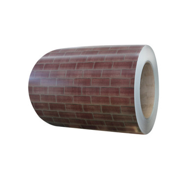 Brick color steel sheet