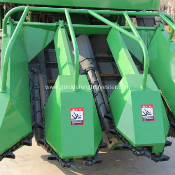 corn maize harvesting machine how it works