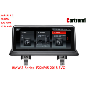 BMW 2 Series F22 / F45 2018 Headunit Audio