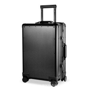 high quality carbon fiber luxury suitcase