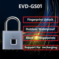 waterproof  fingerprint padlock