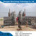 Pyrolysis Machine of Waste Rubber with Cooling System