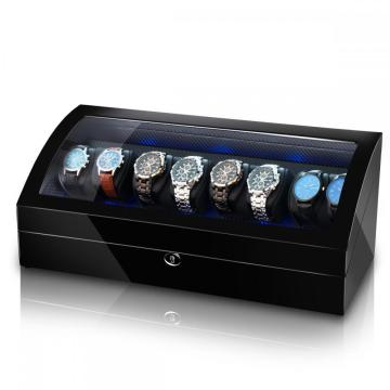 Ebony  Quad Rotors Watch Winder