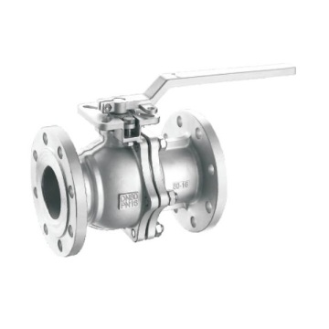 Stainless Steel 150lb Flange 2PC Ball Valve