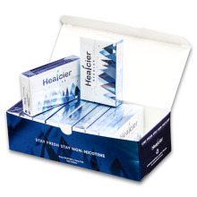 Box of Blue Healcier Cigarette Alternative Heatsticks