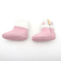 Pink Winter Warm Casual Booties