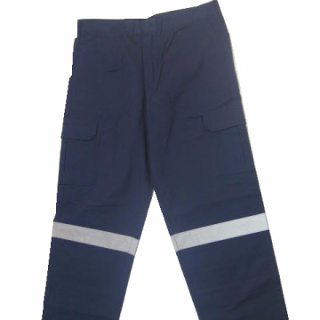 flame retardent safety pants and coverall for man