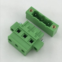 7.62mm pitch Vertical female and male terminal block