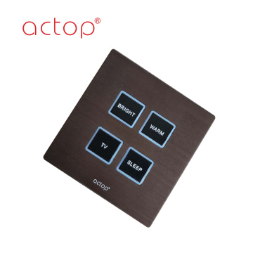 Customized wall hotel low voltage  RS485 switches