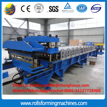 High-end roof tile roll forming machine