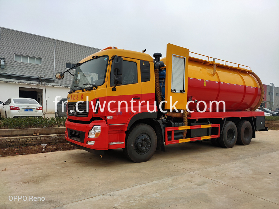 sewage vacuum truck for sale