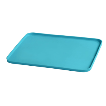 Custom Silicone Finger Food Platemat with Raised Edges