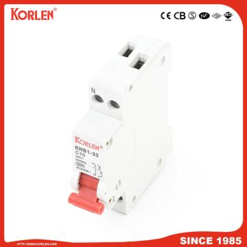 KNB1-32 Miniature Circuit Breaker 4.5KA 32A with CE