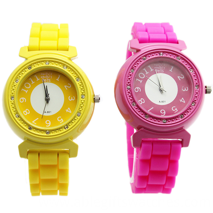 women silicone watch