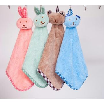 Fancy Hanging Soft Plush Hand Towels