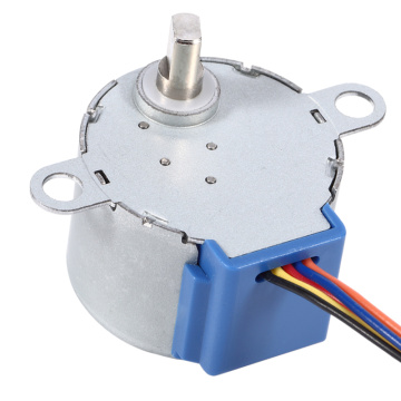 4 Phase 8 beat geared stepper motor