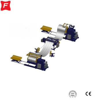 Uncoiling Slitting Cutting Collecting Line