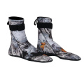 Seaskin Neoprene Snorkeling Camo Socks With Rubber Printing