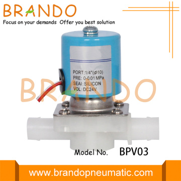 Direct Acting One Way Plastic Water Solenoid Valve