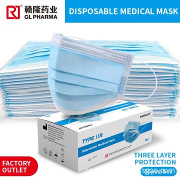 Non-woven 3 Ply  Face mask
