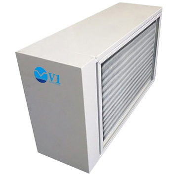 Air cabinet type photocatalysis air purification device