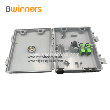 2 Port water-proof Fiber Optic Demarcation Box Patch Panel