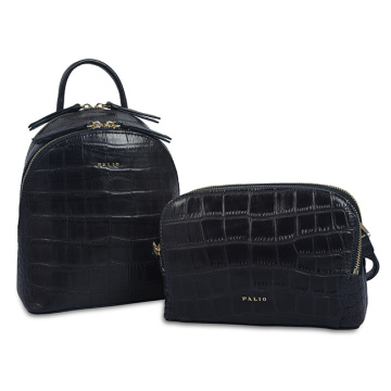 Hot Style Crocodile Backpacks Gilrs Functional Fanny Pack