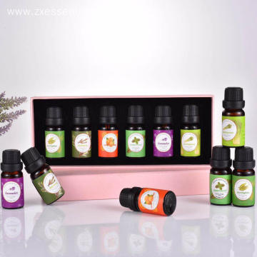 Top 6 essential oil for one set