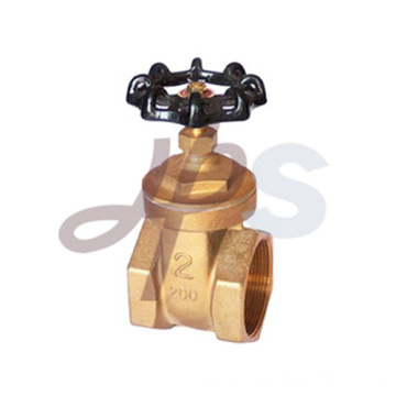 PN 16 thread oil and gas pipeline water brass gate valve HG13