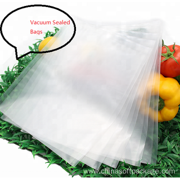 Food Clear Vacuum Sealed Bag for Nuts Packaging