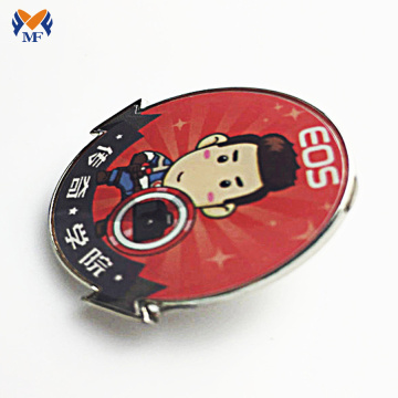High Quality OEM Custom Metal Lapel Badge Emblems