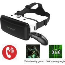 3D VR Glasses headphone Virtual Reality VR Rocker Glasses Headset for IOS Android Smartphone